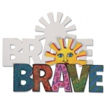 Craft Kits to Go!  Be Brave Magnets!