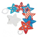 Craft Kits to Go!  Color-Me Star Stringers!
