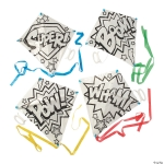 Craft Kits to Go: Color Your Own Superhero Kites!