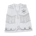 Craft Kit to Go: Color Your Own Western Vests!