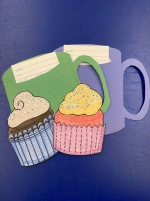 Craft Kits to Go! Cupcake Magnets and Message in a Mug!