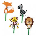 Craft Kits to Go! Foam Animal Stick Puppets!