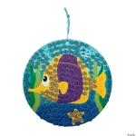 Craft Kits to Go: Glitter Fish Mosaics!