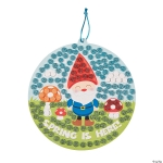 Craft Kits to Go: Glitter Mosaic Spring Gnome Signs!