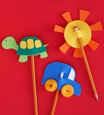 Craft Kits to Go! Foam Pencil Toppers!