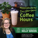 In-Person Coffee Hour with State Representative Kelly Breen