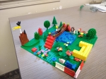 Lego Building and Landscaping
