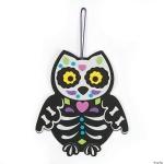 Skeleton Owl Kid's Take-and-Make Craft Kit