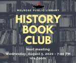 CANCELLED History Book Group (Adults)