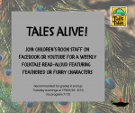 Tales Alive! (grades K and up)