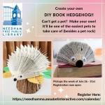 Take and Make - Book Hedgehog