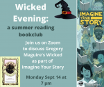 A Wicked Evening - Summer Reading Bookclub