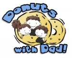 Dads and Donuts Storytime (Ages 3-5, siblings welcome!)