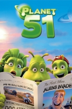 Movie: Planet 51 (Rated PG)