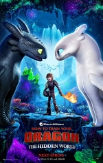 1/2 Day Movie: How to Train Your Dragon 3: The Hidden World