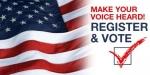 Voter Registration Deadline Today