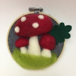 Pop Up Art School: Felted Mushrooms