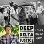 Author Talk: Deep Delta Justice with Matthew Van Meter (virtual)