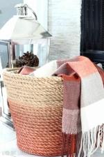 Monthly Adult Craft Tutorial on Demand - DIY Rope Throw Basket