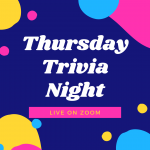 Thursday Trivia Nights w/the Library – on Zoom