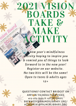 Take & Make Teen & Adult Vision Boards
