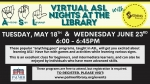 Virtual ASL Night at the Library with Signing Basics