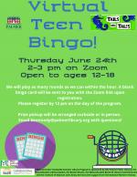 Virtual Teen Bingo