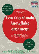Teen Take & Make Ornament Craft