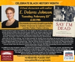 Virtual Discussion with Author E. Dolores Johnson