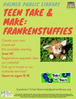 Teen Take & Make: Frankenstuffies