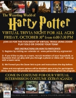 Virtual Harry Potter Trivia Night for All Ages