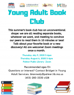 Young Adult Virtual Book Club