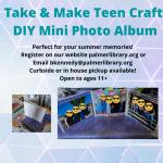 Take & Make Photo Album