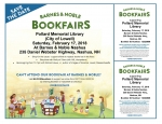 Support the Library Bookfair at Barnes & Noble Nashua!