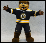 A Very Special Li-BEAR-y day with Blades, the Bruins mascot!