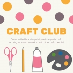 Craft Club for Adults