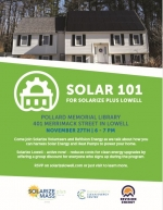 Solar 101 for Solarize Plus Lowell