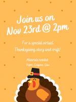 Thanksgiving story & craft!