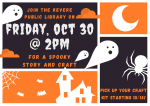 Spooky Story and Craft!