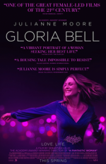 Current Release Screenings: Gloria Bell (2018) (Rated R)