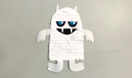 Paper Yeti Virtual Art Class for Ages 8-12