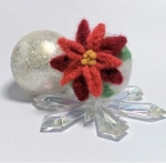 Felted Poinsettia Art Class for Adults