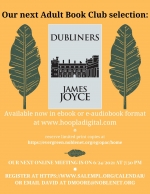Adult Book Club 2021-06 - Dubliners
