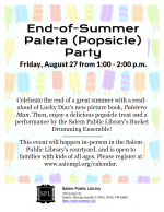 End-of-Summer Paleta (Popsicle) Party