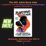 ONLINE EVENT: The Adult Book Club discusses Punching The Air, by Ibi Zoboi and Yusef Salaam