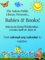 ONLINE EVENT: Babies & Books