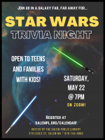 Salem Public Library presents- Star Wars Trivia Night