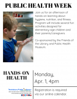 PUBLIC HEALTH WEEK: Hands-On Health!