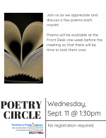 Poetry Circle