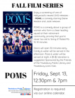 FILM SCREENING: Poms